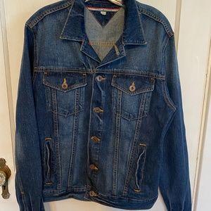 Tommy Hilfiger denim jean jacket blue M